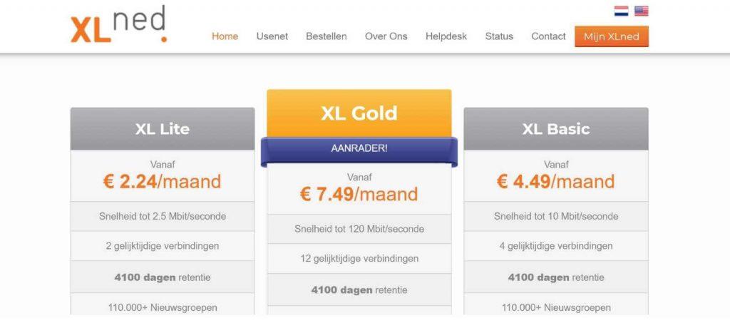 Review van usenet download provider XLNed