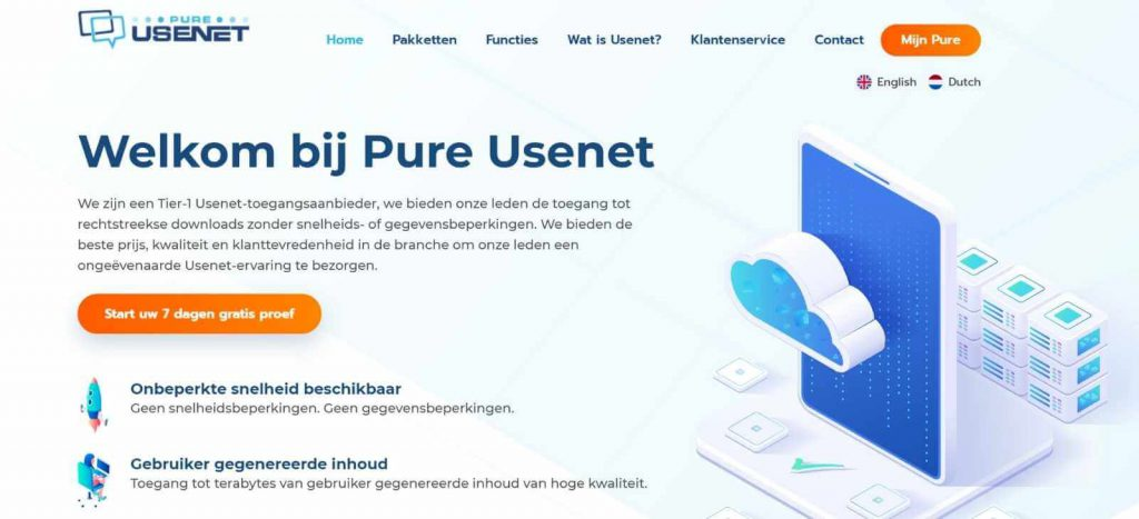 Review van usenet provider Pure Usenet